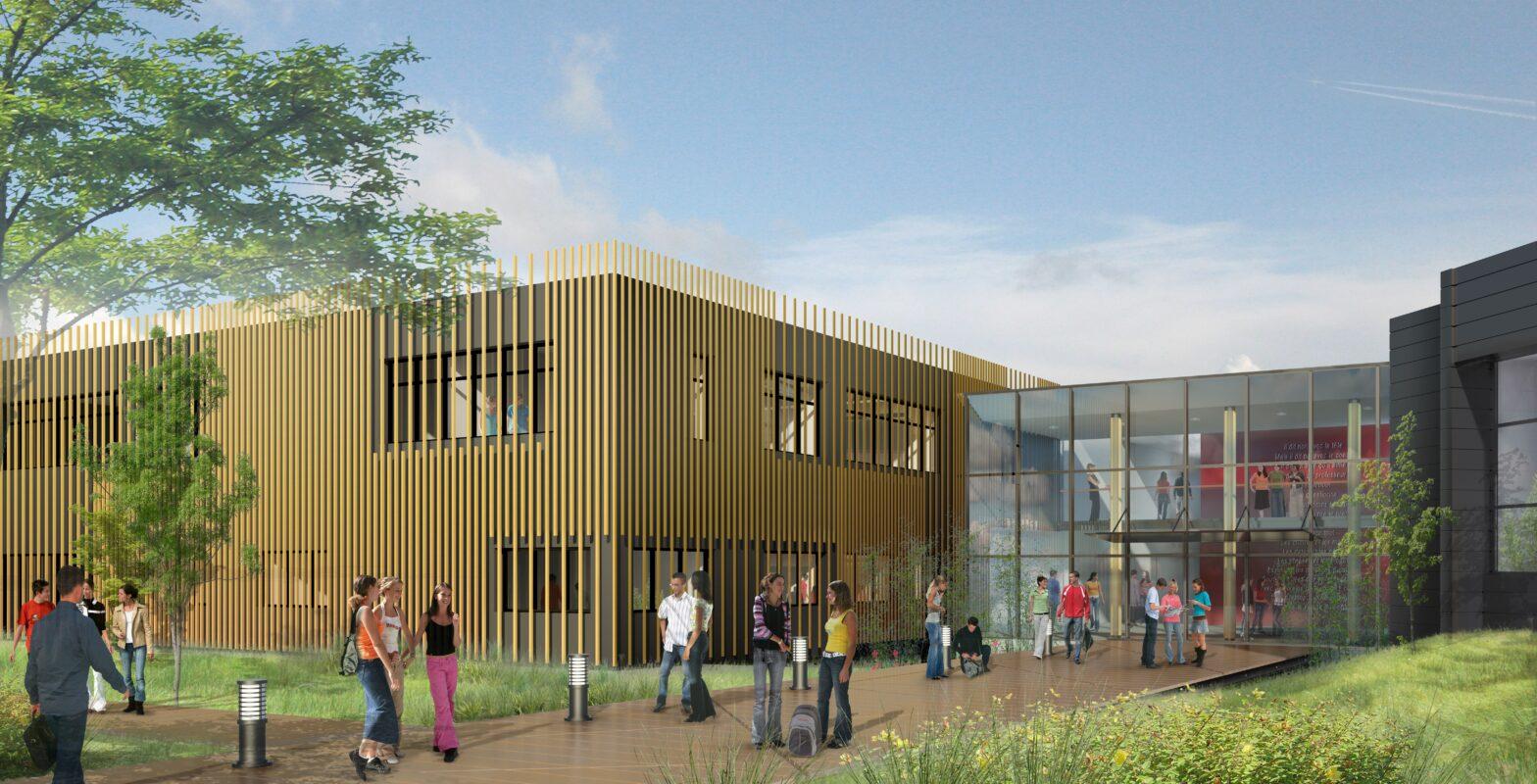 Plan 3D Collège Jacques Prévert