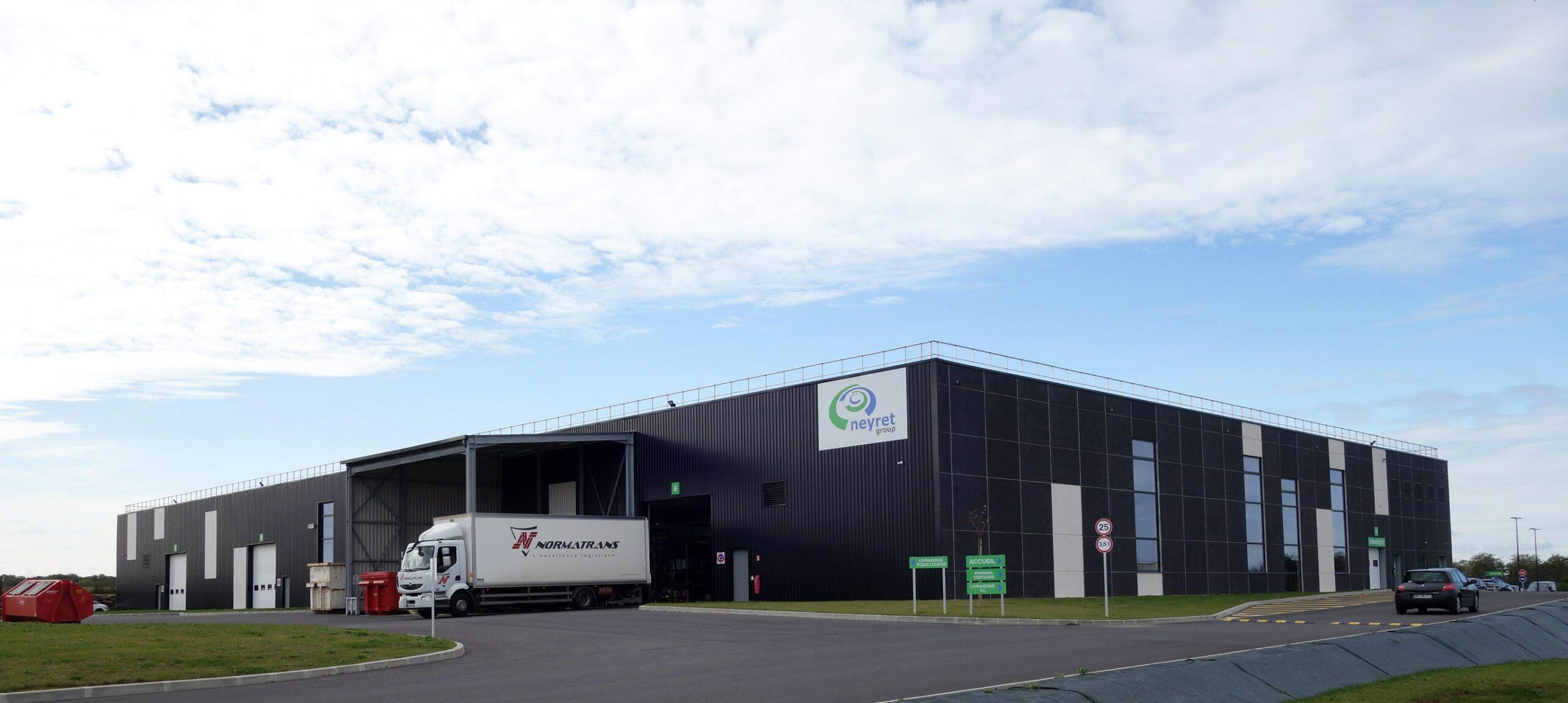 Vue usine Extension Usine NEYRET LAGNIEL - Douvres la Délivrande
