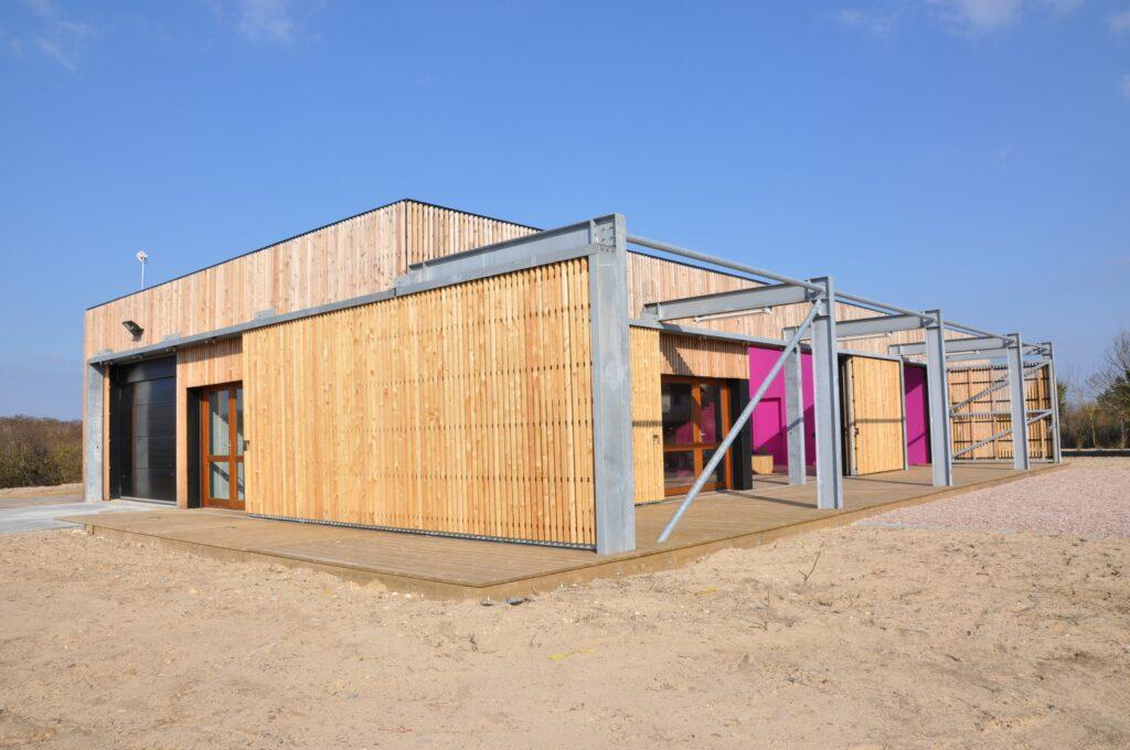 École de kite-surf de Merville-Franceville