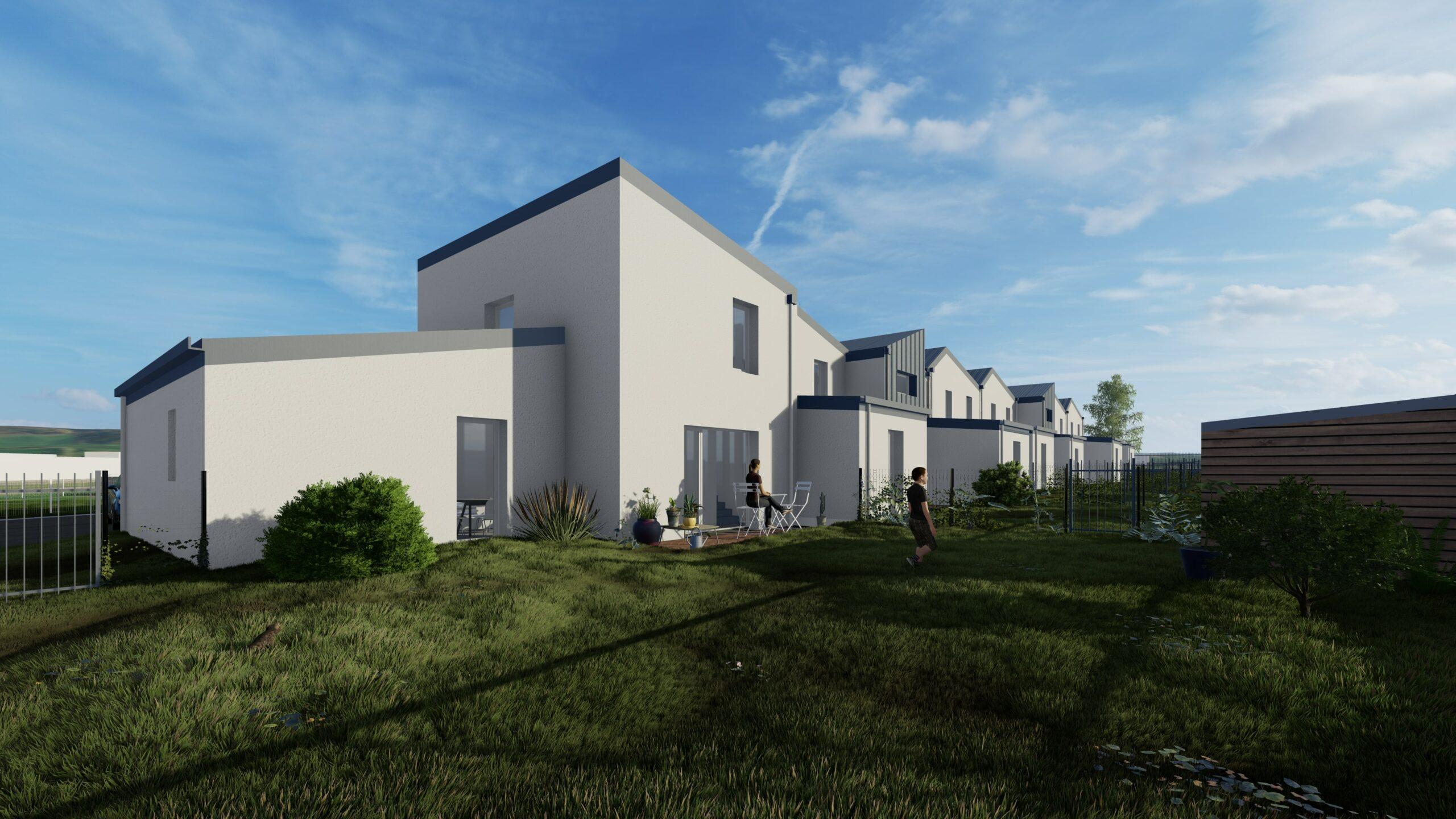 Jardins Gendarmerie et logements - le Hom